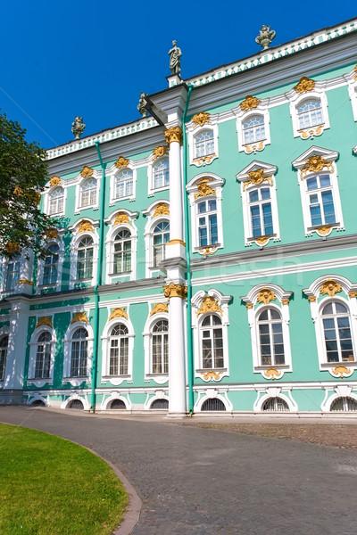 Museo invierno palacio ruso viaje Foto stock © sailorr