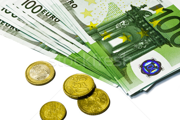 Euro currency Stock photo © sailorr