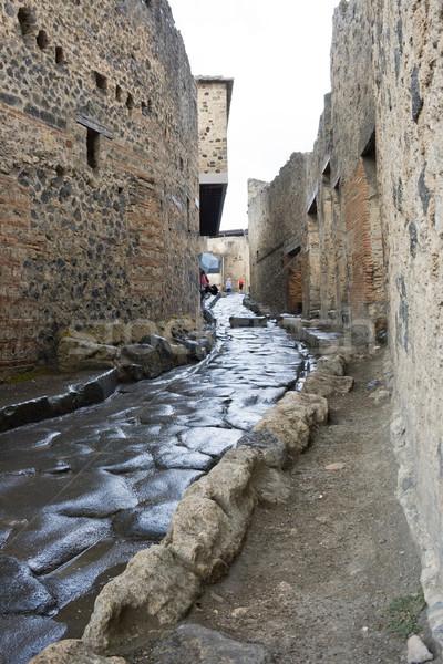 Stock photo: Pompeii street
