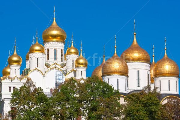 モスクワ クレムリン ロシア 空 建物 クロス ストックフォト © sailorr