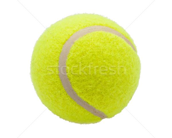 Bola de tênis bom isolado branco esportes fundo Foto stock © sailorr