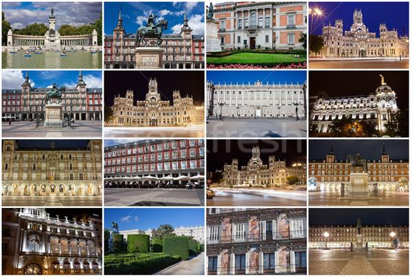 Foto d'archivio: Madrid · raccolta · bella · foto · Spagna · ufficio
