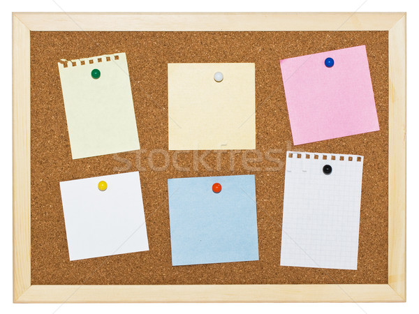 Memo board Stock photo © sailorr