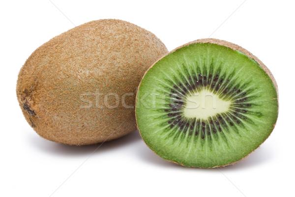 Kiwi vers geïsoleerd witte voedsel natuur Stockfoto © sailorr