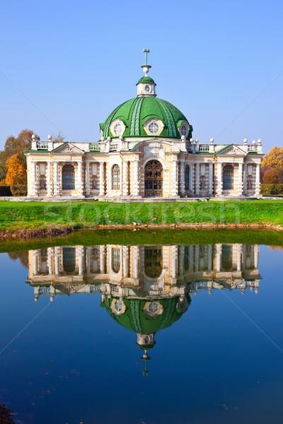 Pavilion Grotto in Kuskovo Stock photo © sailorr