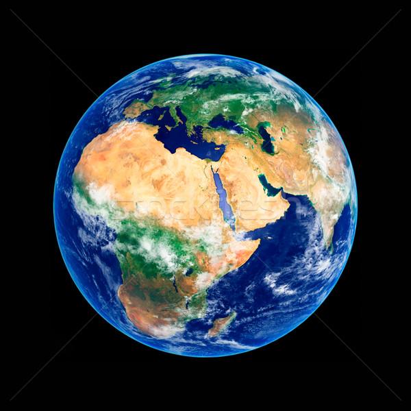 земле мира Африка Европа высокий разрешение Сток-фото © sailorr