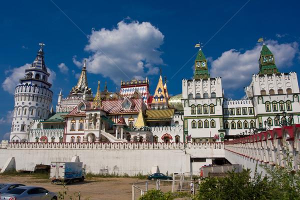 クレムリン 美しい 表示 モスクワ ロシア 壁 ストックフォト © sailorr