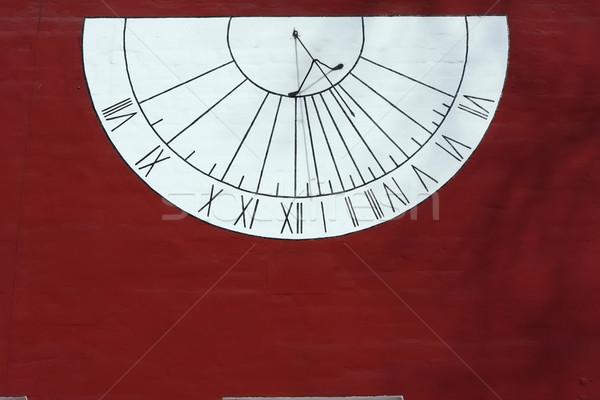 Zonnewijzer oude Moskou Rusland zon klok Stockfoto © sailorr