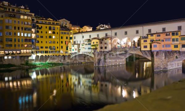 Ponte vecchio, Florence Stock photo © sailorr