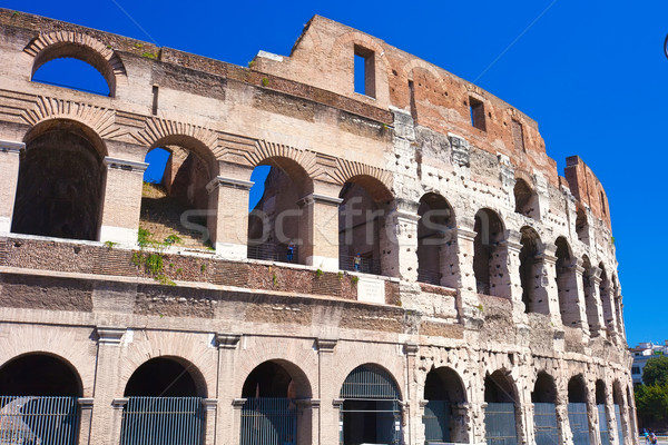 Colosseum in Rome Stock photo © sailorr