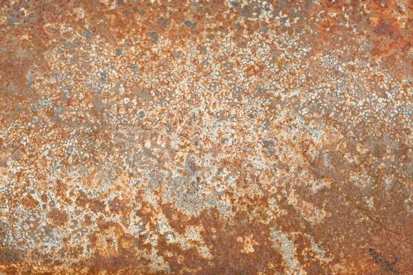 ржавчины текстуры Гранж железной старые стали Сток-фото © sailorr