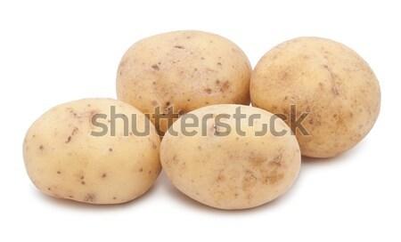Potatoes Stock photo © sailorr