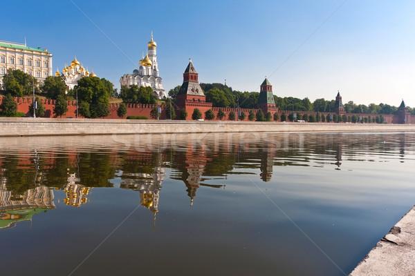 Stockfoto: Moskou · Kremlin · mooie · rivier · Rusland