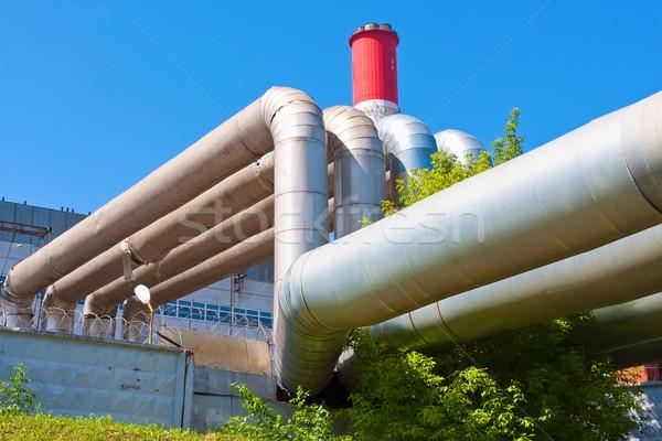 Heavy Industry Stock photo © sailorr