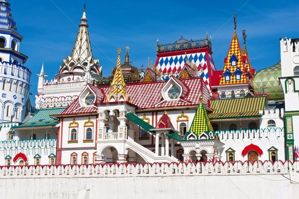 Kremlin mooie Moskou Rusland gebouw Stockfoto © sailorr