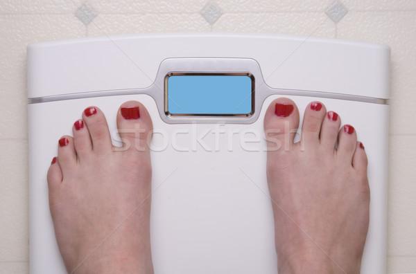 Scale with Female Feet Stock photo © saje