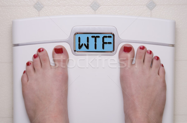 WTF Scale Stock photo © saje