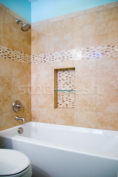 Bathrooom Remodel Finished Stock photo © saje