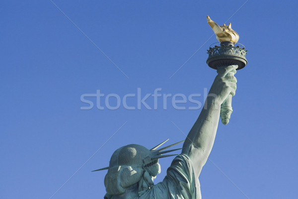 Statue of Liberty Head and Torch from the Back Stock photo © saje