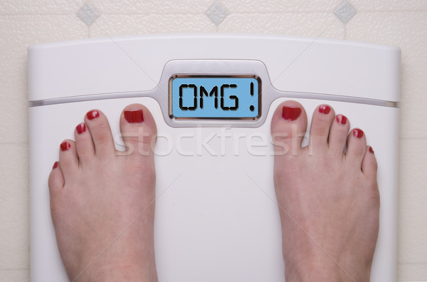 OMG Scale Stock photo © saje