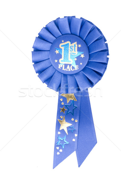 Blue Ribbon 1st Place Stock photo © saje