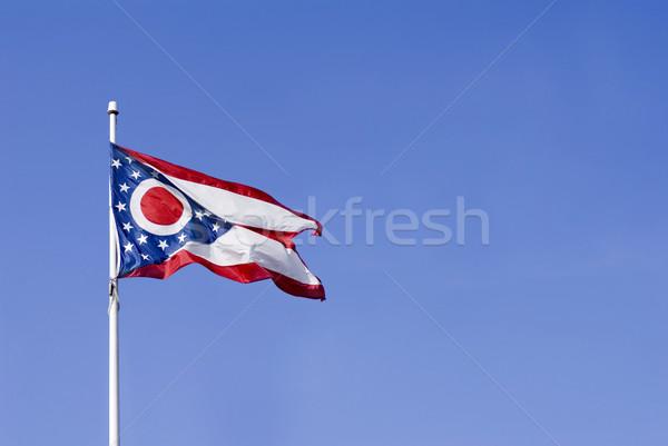 Ohio vlag Verenigde Staten achtergrond teken sterren Stockfoto © saje