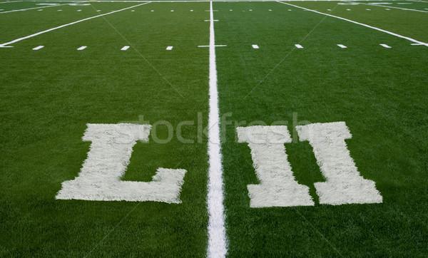 Football Field LII Yard Line Stock photo © saje