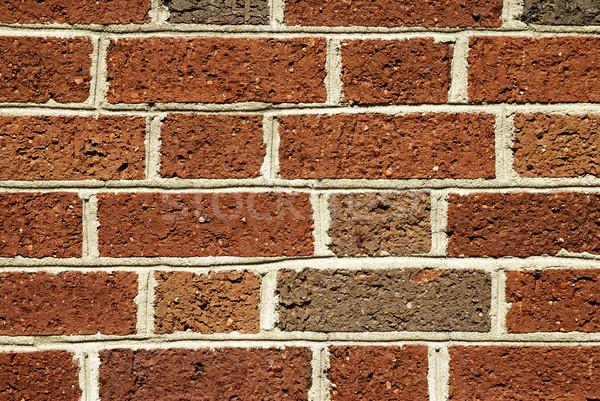 Red brick wall background Stock photo © saje