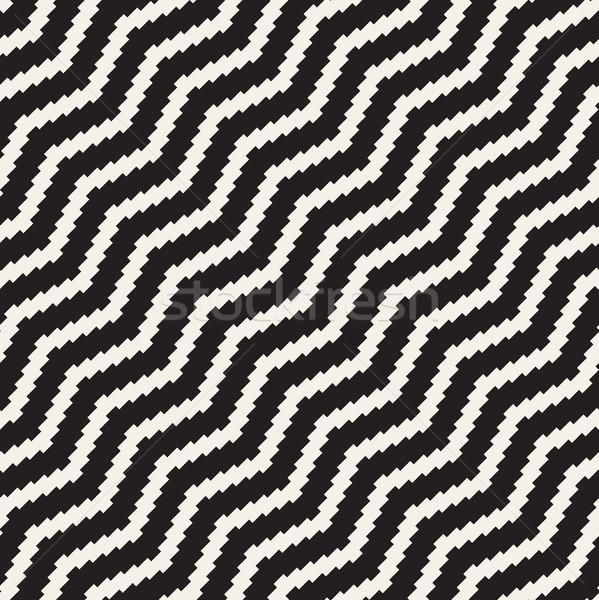 полутоновой нервный линия мозаика бесконечный Сток-фото © Samolevsky