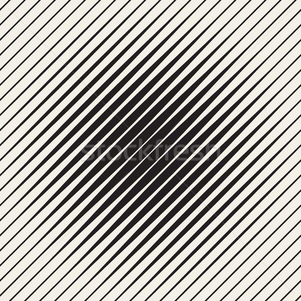 Vector sin costura diagonal líneas medios tonos patrón Foto stock © Samolevsky