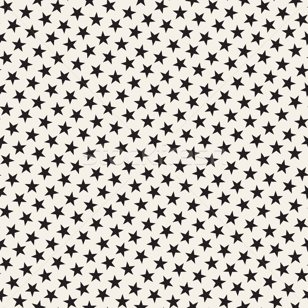 Trendy Texture With Scattered Geometric Shapes. Vector Seamless Pattern. Stock photo © Samolevsky