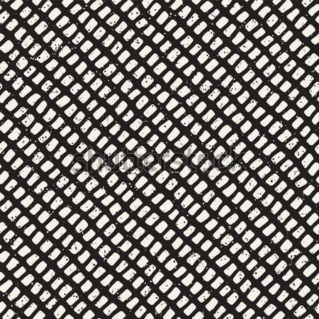 スタイリッシュ ハーフトーン グリッド ベクトル シームレス ストックフォト © Samolevsky
