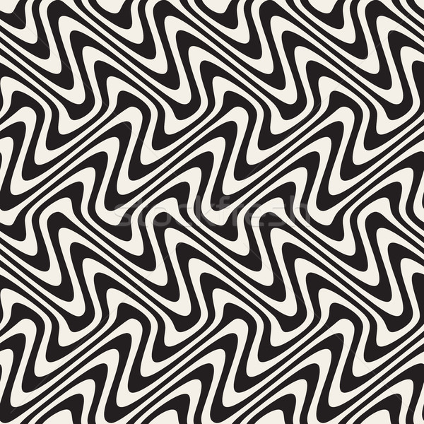 Wavy Lines Marbling Effect Stock photo © Samolevsky