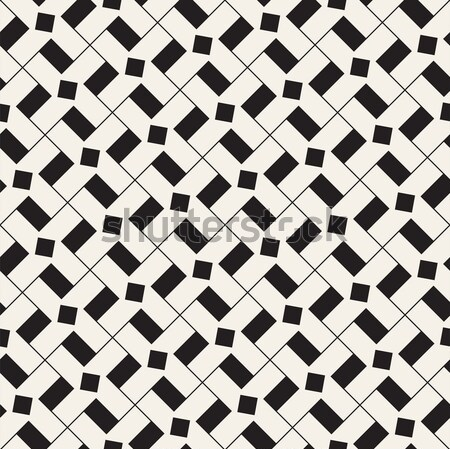 Geometrica forme vettore senza soluzione di continuità bianco nero pattern Foto d'archivio © Samolevsky