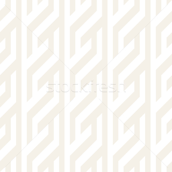 Repeating Slanted Stripes Modern Texture. Monochrome Geometric Seamless Pattern. Stock photo © Samolevsky