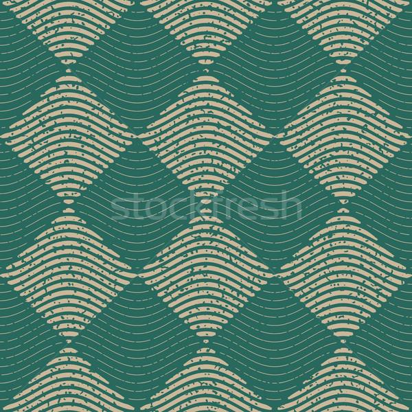Wektora bezszwowy zielone szary kolor Zdjęcia stock © Samolevsky