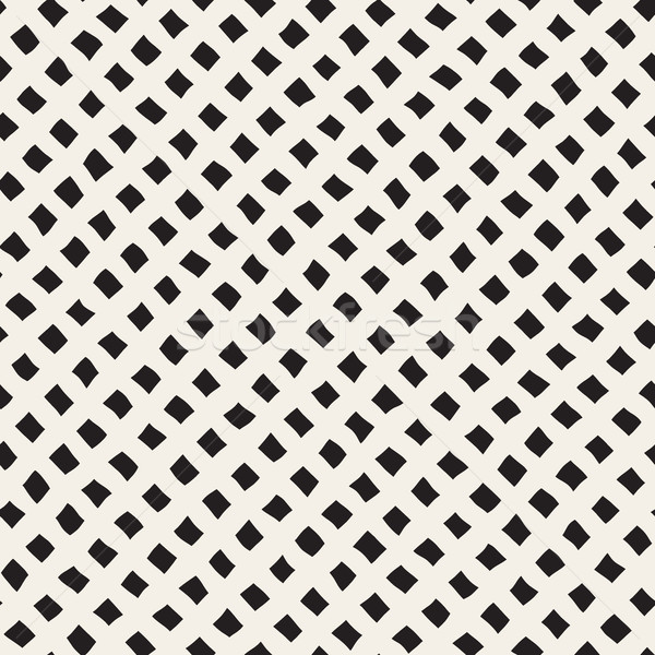 Vector Seamless Diagonal Rhombus Grid Pattern Stock photo © Samolevsky