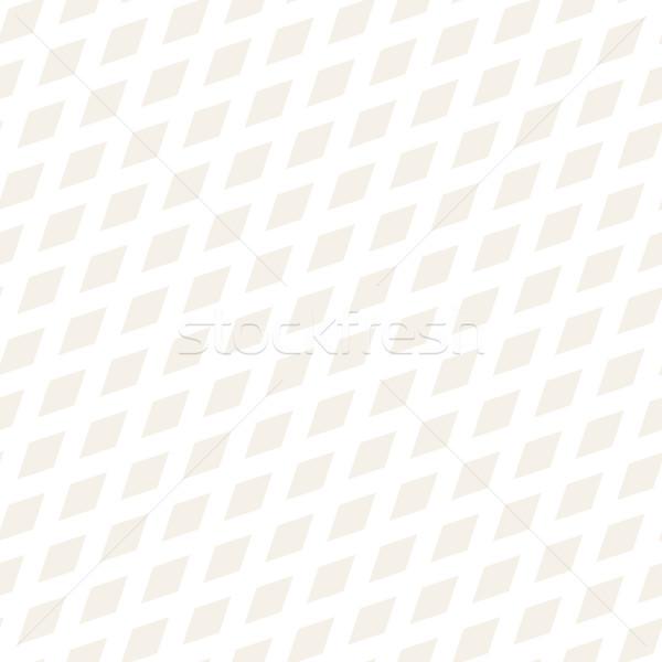 Rectángulo forma medios tonos vector sin costura Foto stock © Samolevsky