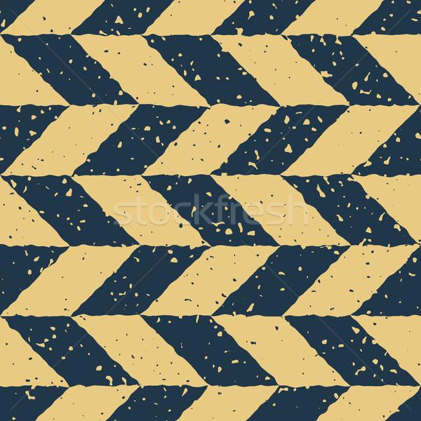 Wektora bezszwowy niebieski żółty kolor Zdjęcia stock © Samolevsky