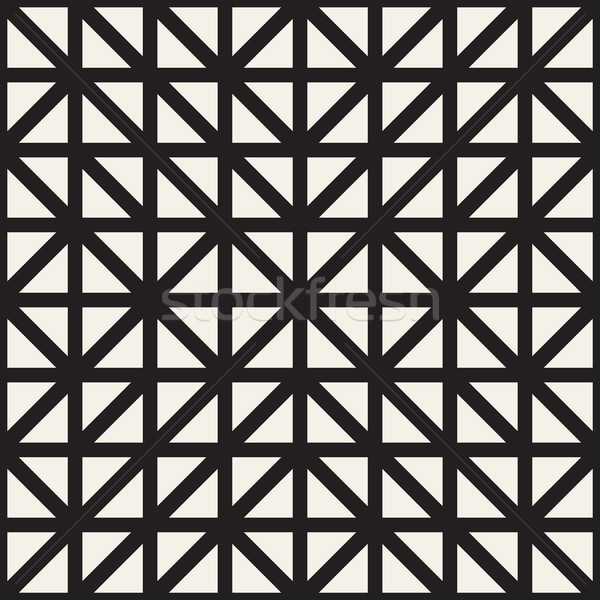 Geometrica etnica simmetrica linee vettore abstract Foto d'archivio © Samolevsky