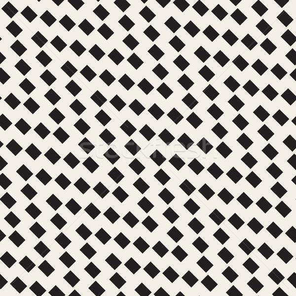 Vettore senza soluzione di continuità disegno geometrico abstract design stampa Foto d'archivio © Samolevsky