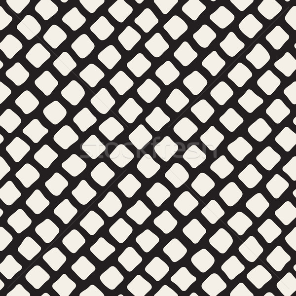 Vettore senza soluzione di continuità bianco nero diagonale pattern Foto d'archivio © Samolevsky