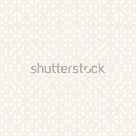 Geometric Ethnic Background Lattice. Stylish Subtle Texture. Vector Abstract Seamless Pattern. Stock photo © Samolevsky
