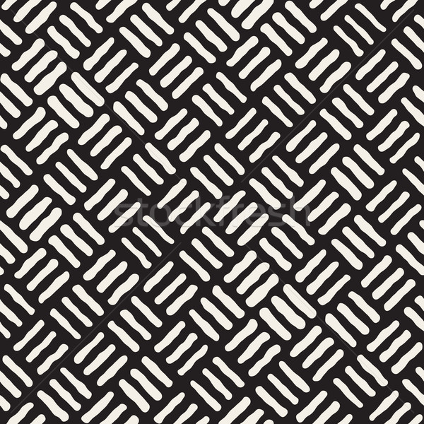 Vektör geometrik kaba hatları model Stok fotoğraf © Samolevsky