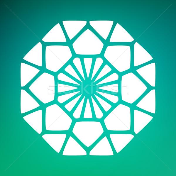 Vektör dekoratif mandala süsler logo örnek Stok fotoğraf © Samolevsky