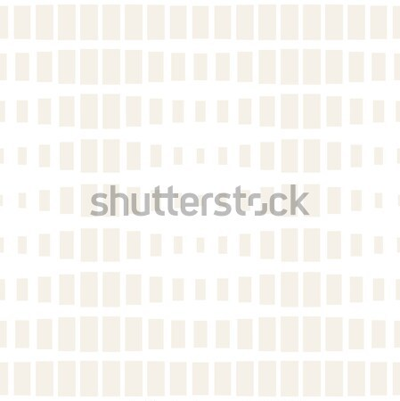 Repeating Rectangle Shape Halftone. Vector Seamless Monochrome Pattern Stock photo © Samolevsky