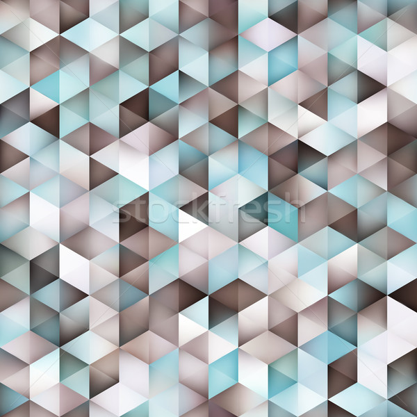 ベクトル シームレス 勾配 三角形 グリッド ストックフォト © Samolevsky