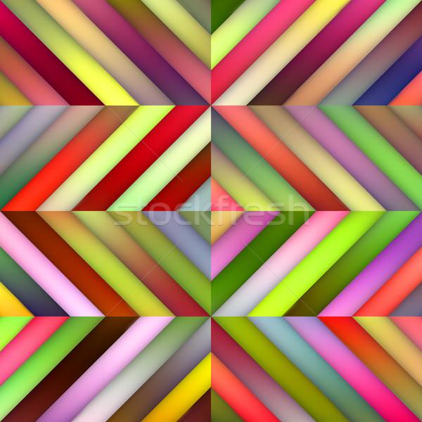 Vektor végtelenített gradiens átló csíkok csempék Stock fotó © Samolevsky