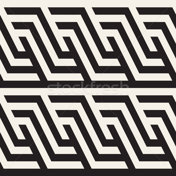 Moderno textura monocromático geométrico Foto stock © Samolevsky