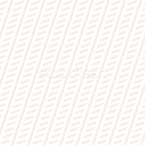 Interlacing Parallel Stripes. Vector Seamless Subtle Monochrome Pattern. Stock photo © Samolevsky